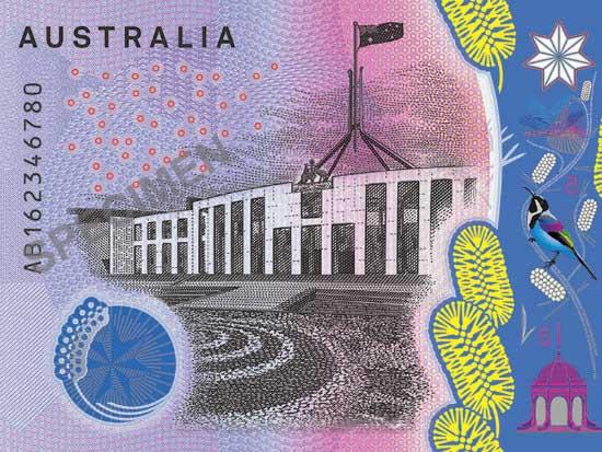 02_New five-dollar banknote design revealed